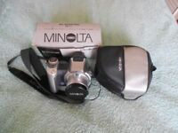 minolta 10x zoom camera with charger