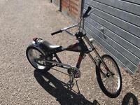 "2 x Schwinn stingray 20"" bikes"