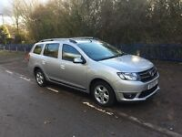 Dacia Logan MCV 1.5dci laureate top spec, 80MPG, 5 year Dacia warranty remaining