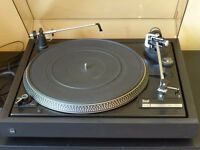 Dual CS505 turntable with cartridge and lid