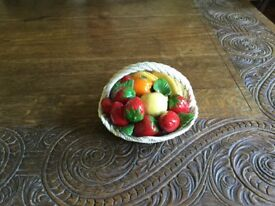 Model of Bowl of Fruit by Lanzarin handmade in Italy