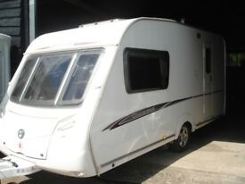R&K CARAVANS 2008 SWIFT CHARISMA 230/2 E/B, M,MOVER