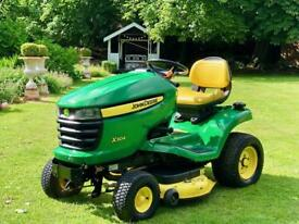 "John Deere X304 Ride On Mower - 42"" Mulch deck - 4 wheel steering - Lawnmower - countax/Kubota/Honda"