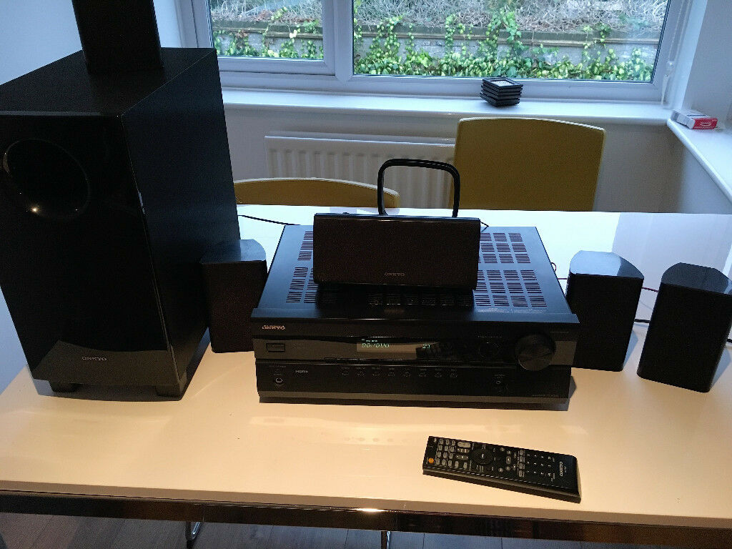 REDUCED Home Cinema System: ONKYO HT-R380 5.1 Channel Receiver for sale (very cheap)