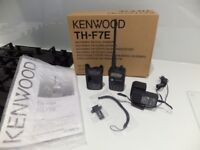 Kenwood TH-7Fe dual band handheld - boxed