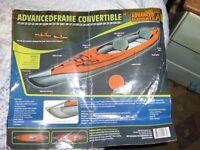 Advanced Elements Inflatable Kayak.