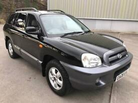 Stunning 2006 06 Hyundai Santa Fe 2.0Crdt Cdx Auto 4WD **Only 83000+Full Leather+Mega Spec+4WD**