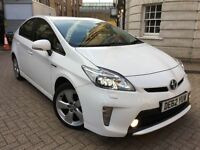 TOYOTA PRIUS T SPIRIT 1.8 VVTI = NEWER SHAPE = HYBRID ELECTRIC = PCO = 62 REG 2012 = £10490 ONLY =