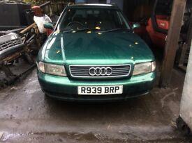 1998 Audi A4 1.9 TDI SE Auto Estate 1.9L Diesel Green BREAKING FOR SPARES