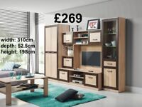 BRAND NEW Wall Units Teenagers Children Office Living Room TV Unit Desk Wardrobe etc. FREE DELIVERY