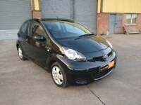 2009 Toyota Aygo Black, Half Leather, just been serviced