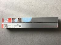 Genuine Velux White Blackout blinds X 2