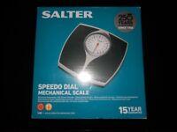 Salter Mechanical Bathroom Scale Brand New