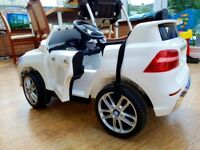 Electric kids car with remote control