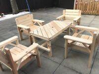 Hand Made Garden Furniture