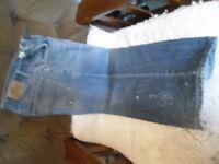 """2 M&S Mens Jeans 32w 25.5""""L damaged"""