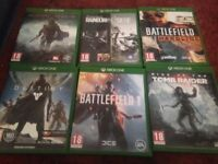 Xbox one games £45