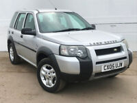 2005 LAND ROVER FREELANDER 2.0 TD4 S S/W ESTATE DIESEL
