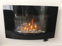 Electric Glass Fire Place