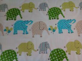 Kids 'Designers Guild', Elephant & Castle Curtain/Fabric