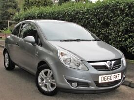 Vauxhall Corsa 1.2 i 16v Energy 3dr (a/c) 1 owner,Low miles,Warranty