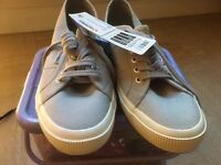 SuperGa grey trainers size 8.5