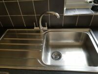 Sink and drainer