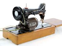Singer 99K Electric Sewing Machine Heavy Duty Vintage circa 1952 Sews Leather see pics