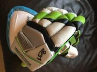 Kookaburra cricket gloves and box
