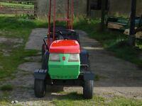 small lawnflite tractor & trailer
