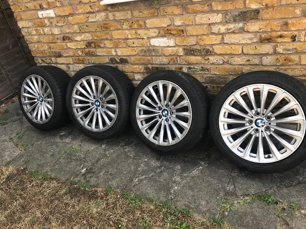 Bmw 19 Inch Wheels And Tyres Oem Urgent Sale In Romford London Gumtree