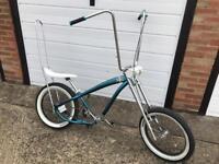 Custom chopper beach cruiser bike