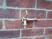 Outside tap supplied and fitted