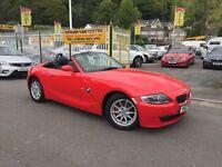 BMW Z4 2.0 i SE Roadster 2dr (red) 2007