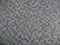 Vinyl cushioned flooring remnant