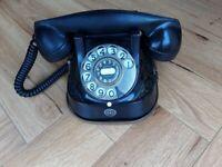 Vintage Black Belgian Telephone