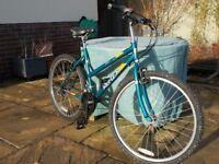 Reflex Tamarind 18 inch Frame Unisex Mountain Bike