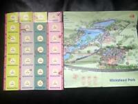 Wicksteed Park 28 Tickets