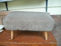 grey foot stool