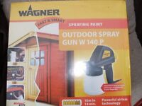 WAGNER OUTDOOR SPRAY GUN (Brand New & Boxed)