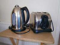 Cookworks kettle and toaster