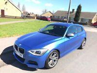 BMW M135i 2013, ONLY 36,700 Miles, Harmon Kardon, Estoril Blue!!