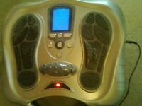 ELECTROFLEX FOOT CIRCULATION MASSAGER. NEVER USED.