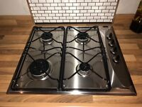 Whirlpool 4 burner gas hob