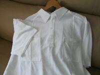 New Carabou short sleeved white t'shirt XLarge