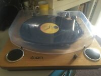 ION USB turntable record player