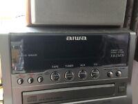Job lot cd/ tape/tuner deck complete. Satellite reciever . DVD player.
