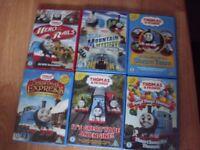Thomas the tank engine - 6 DVDs Bundle