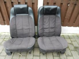 Ford Capri front seats