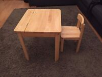 Children's John Lewis desk and chair - good condition, ideal xmas present!